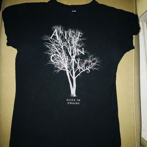 Alice In Chains Concert T-Shirt SzL